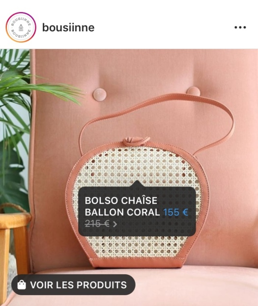 Optimiser le lancement de sa marque instagram shopping Bousiine