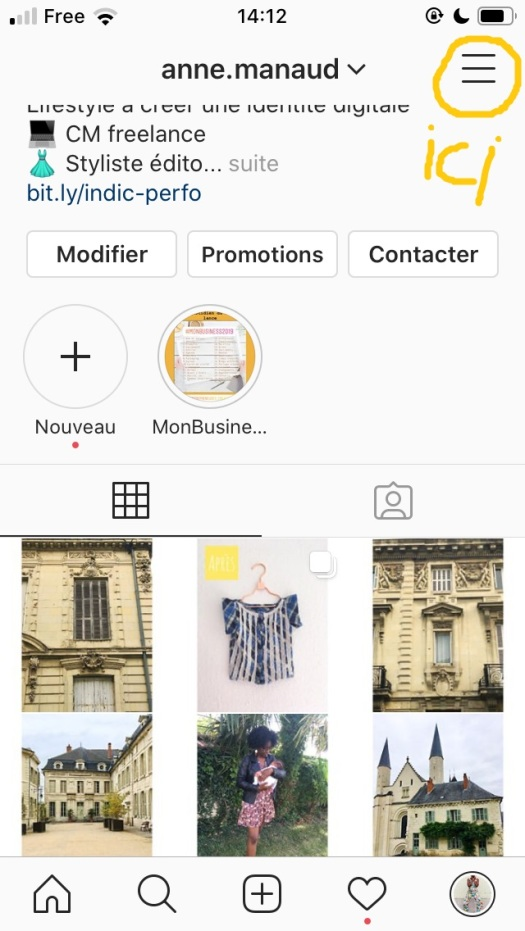 5 erreurs qui vous empêchent de décoller sur instagram compte pro 3
